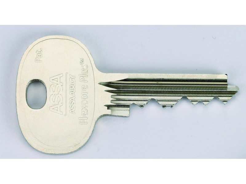 Ruko Flexcore Cut Key With Lock