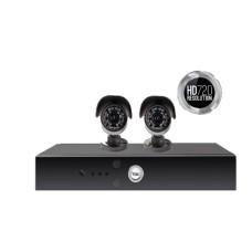 Yale Smart HD720 2 Camera CCTV Kit - Y402A-HD