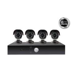 Yale Smart HD720 4 Camera CCTV Kit - Y804A-HD
